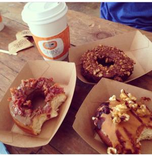 Coffee + Donuts from Rollover Donuts