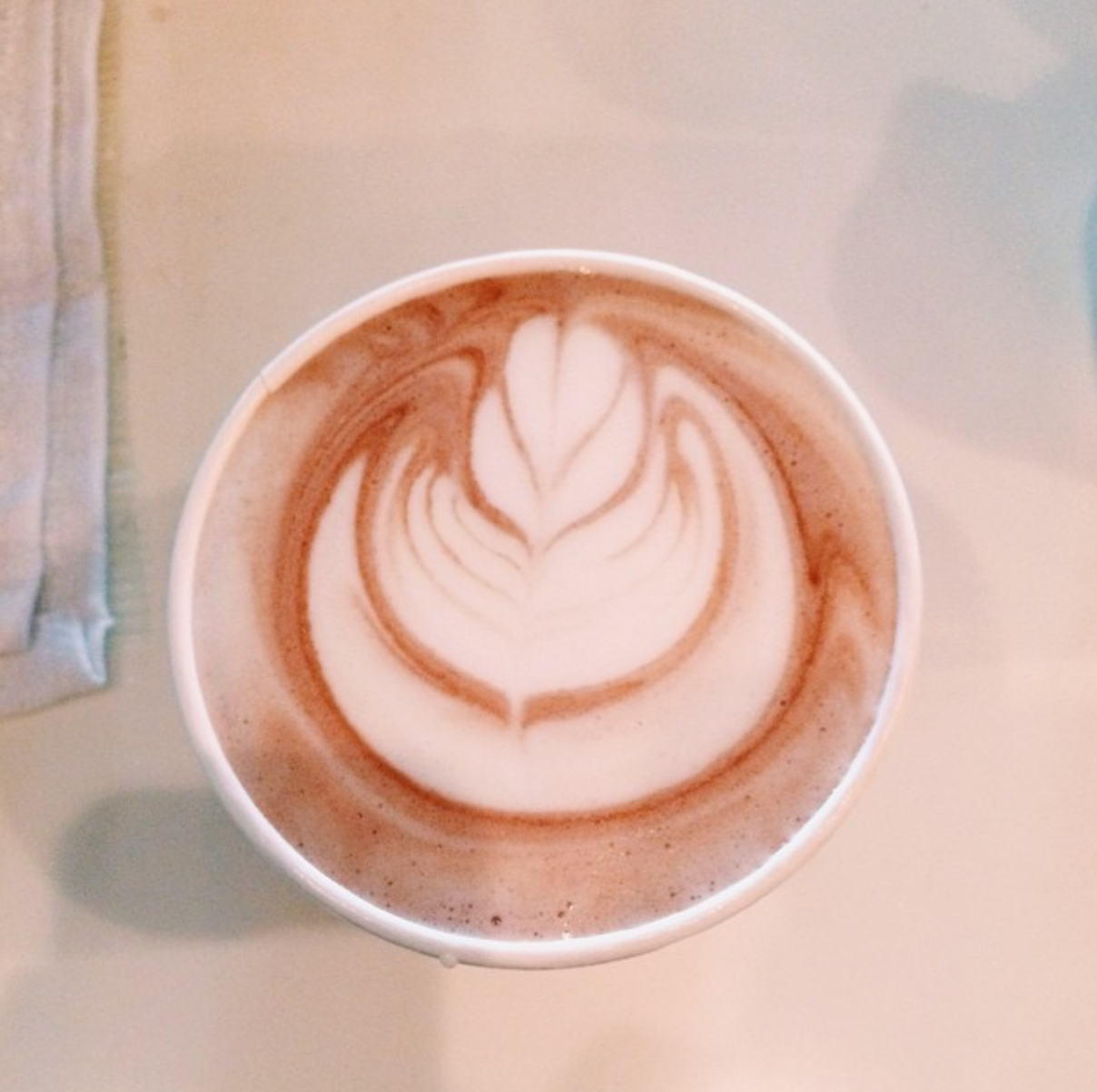 Hot chocolate? No further convincing necessary! Photo: @kamphx