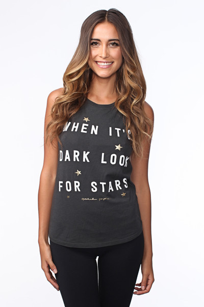 Look For Stars Muscle Tee