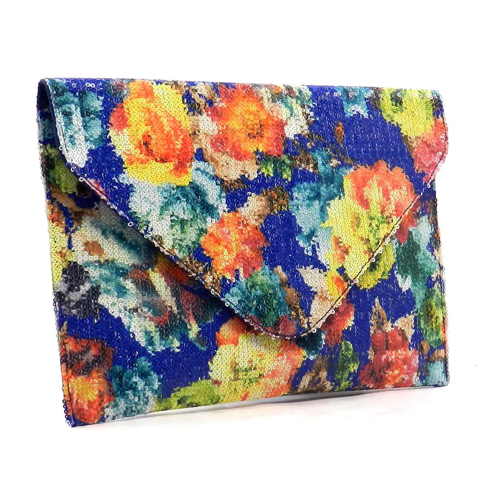 Flora Envelope Clutch $36