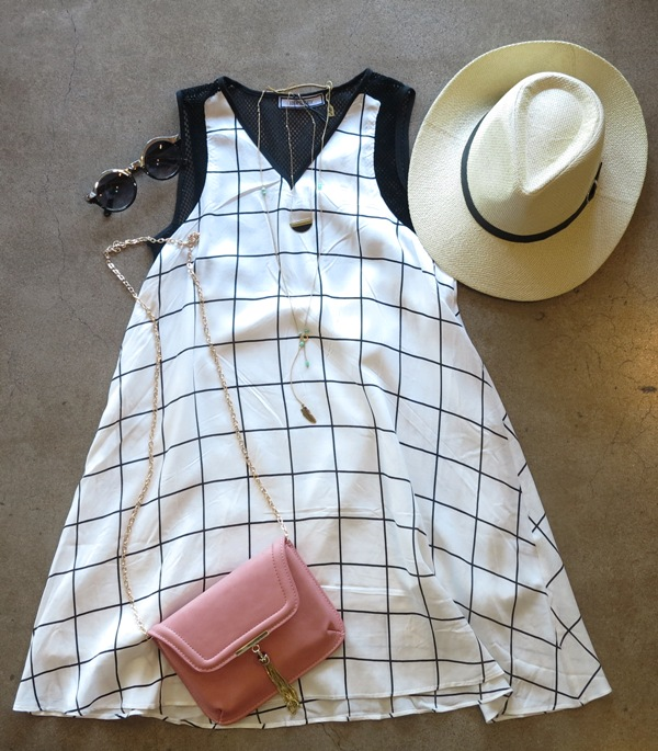 Country Club Dress  +  Tassel Clutch