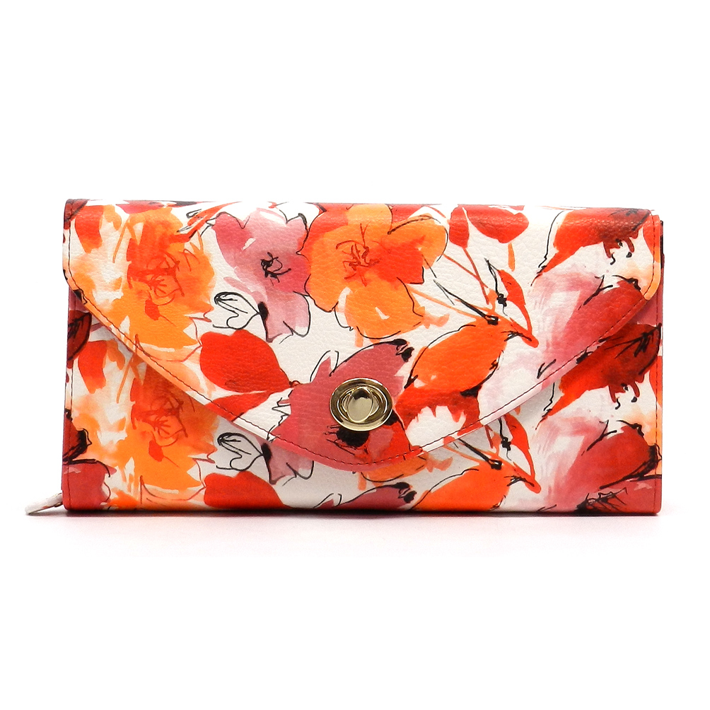 Orange Crush Clutch