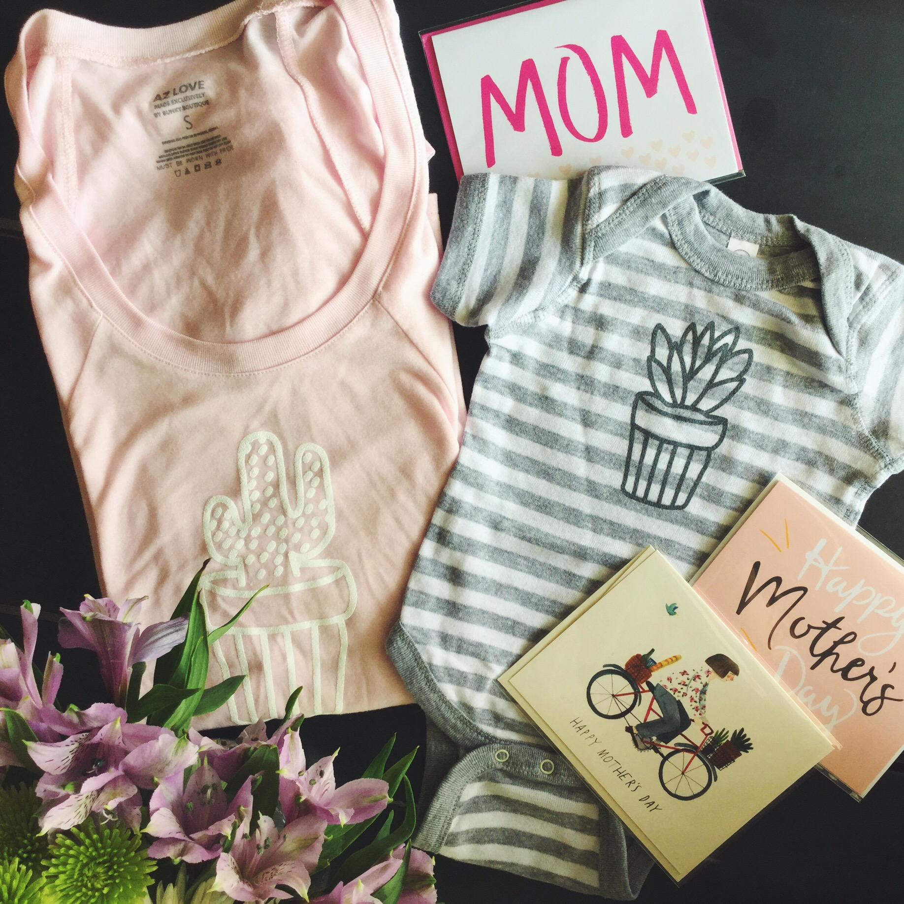 Potted Tee & Potted Bodysuit. Too cute!