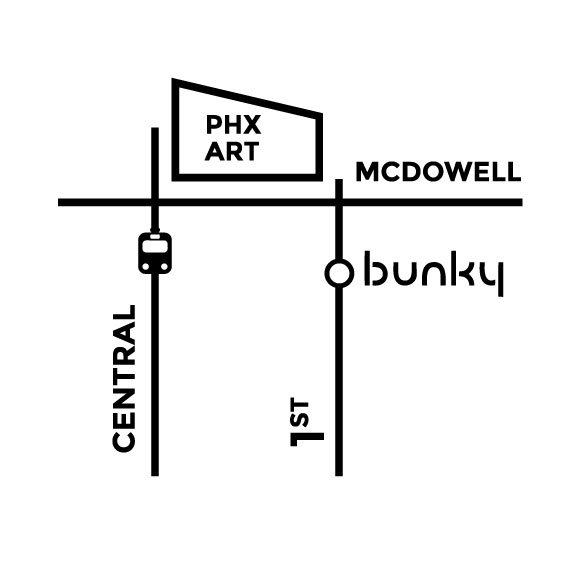 Click map for directions to Bunky Boutique