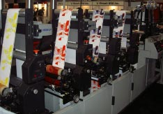 PRIME UV Curing System on a Propheteer 1300 Flexographic Press