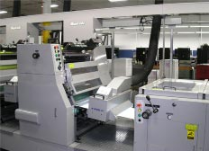 Myakoshi MVF 6 Color Web Press equipped with a PRIME UV Curing System.