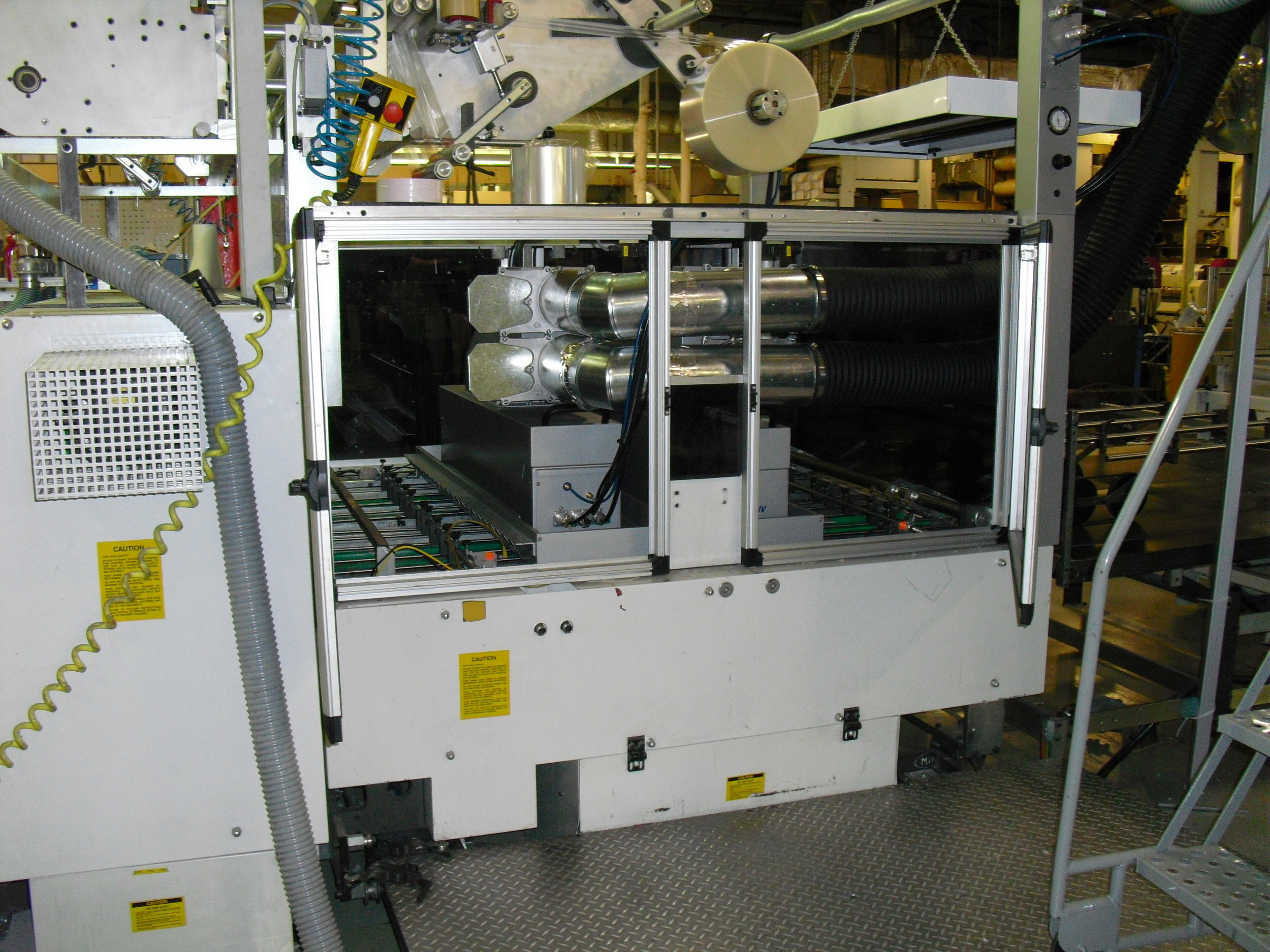 Flexographic Press equipped with a PRIME UV Curing System.