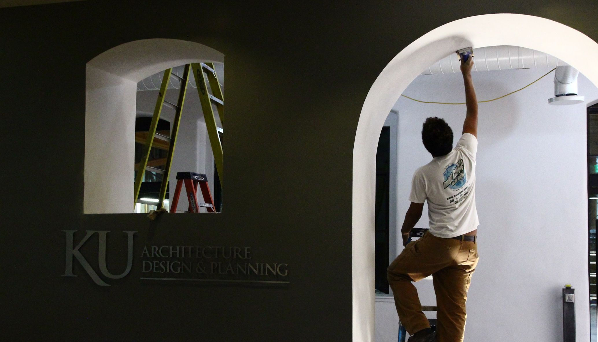 sanding the arch.jpg