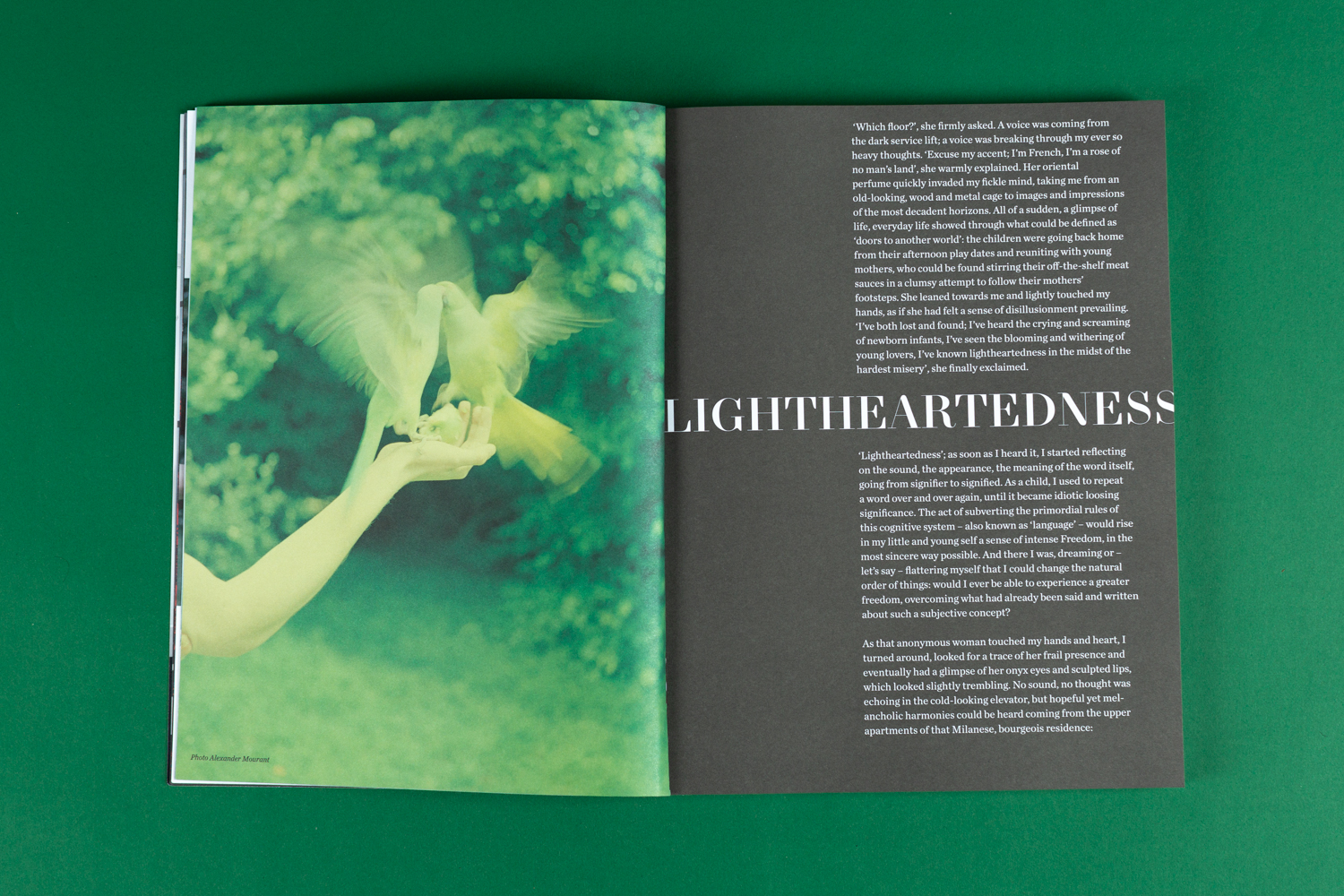 The Greatest Magazine, The Lightness, Issue #14