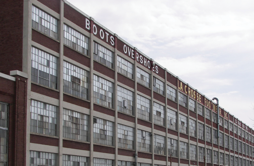 We are located on the third floor of the old La Crosse Footwear building. Get it?  On Three Printing?