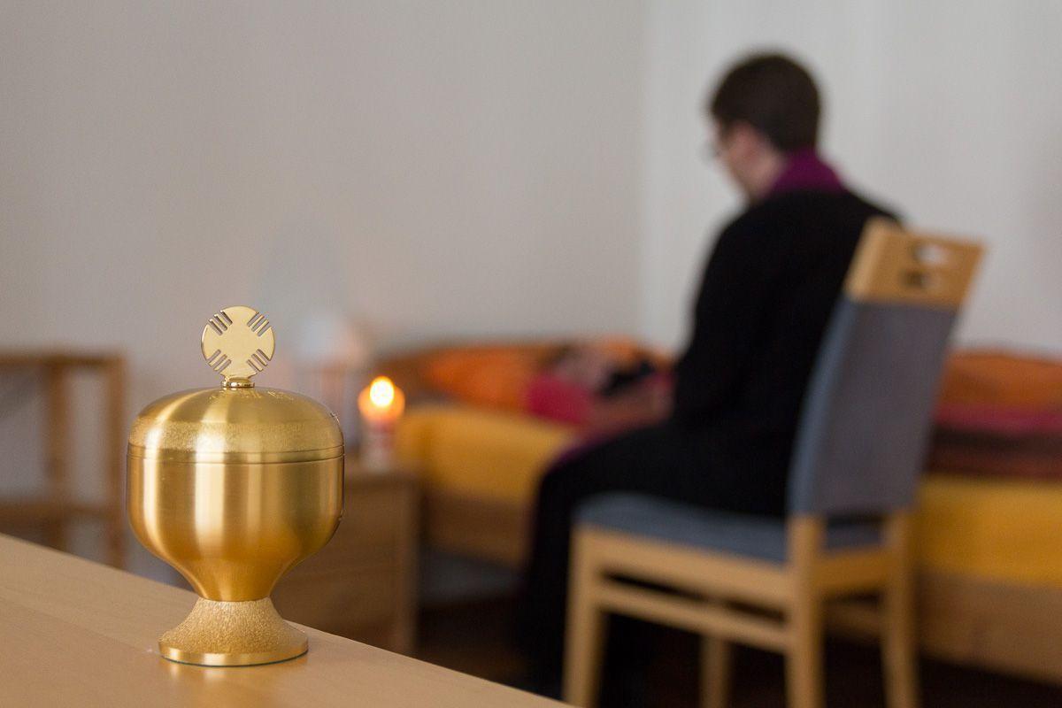 """Symbolfoto """"Krankenseelsorge"""". Foto: Benjamin Dahlhoff"""