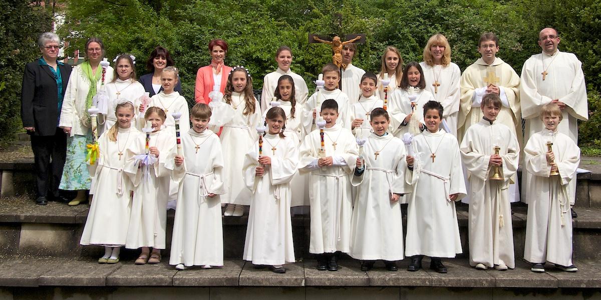 Erstkommunion 2012 in St. Elisabeth. Foto: Benjamin Dahlhoff