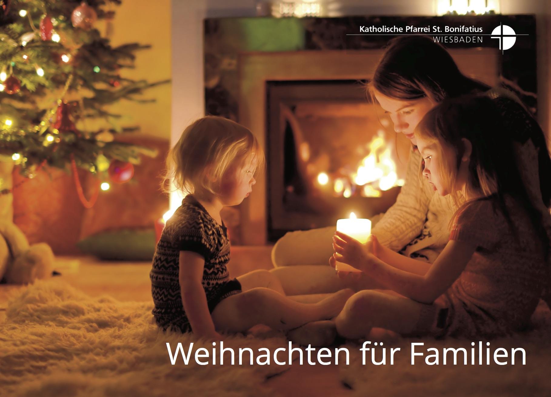 Am Nachmittag des Heiligen Abends finden in unseren Kirchen viele Gottesdienste für Familien statt.