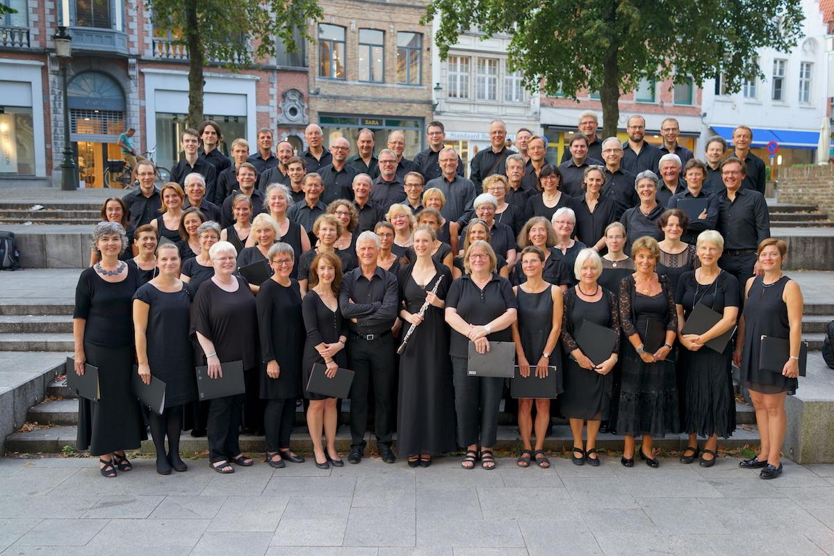 Regerchor-International, August 2016, Brugge