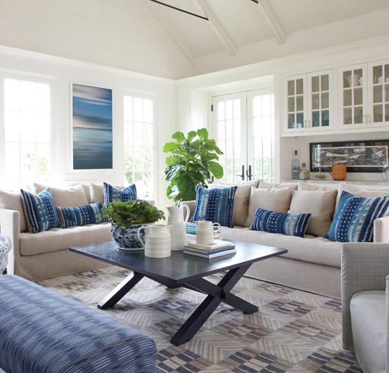 NANCY SERAFINI -  Nantucket Home   Photography: Michael Partenio
