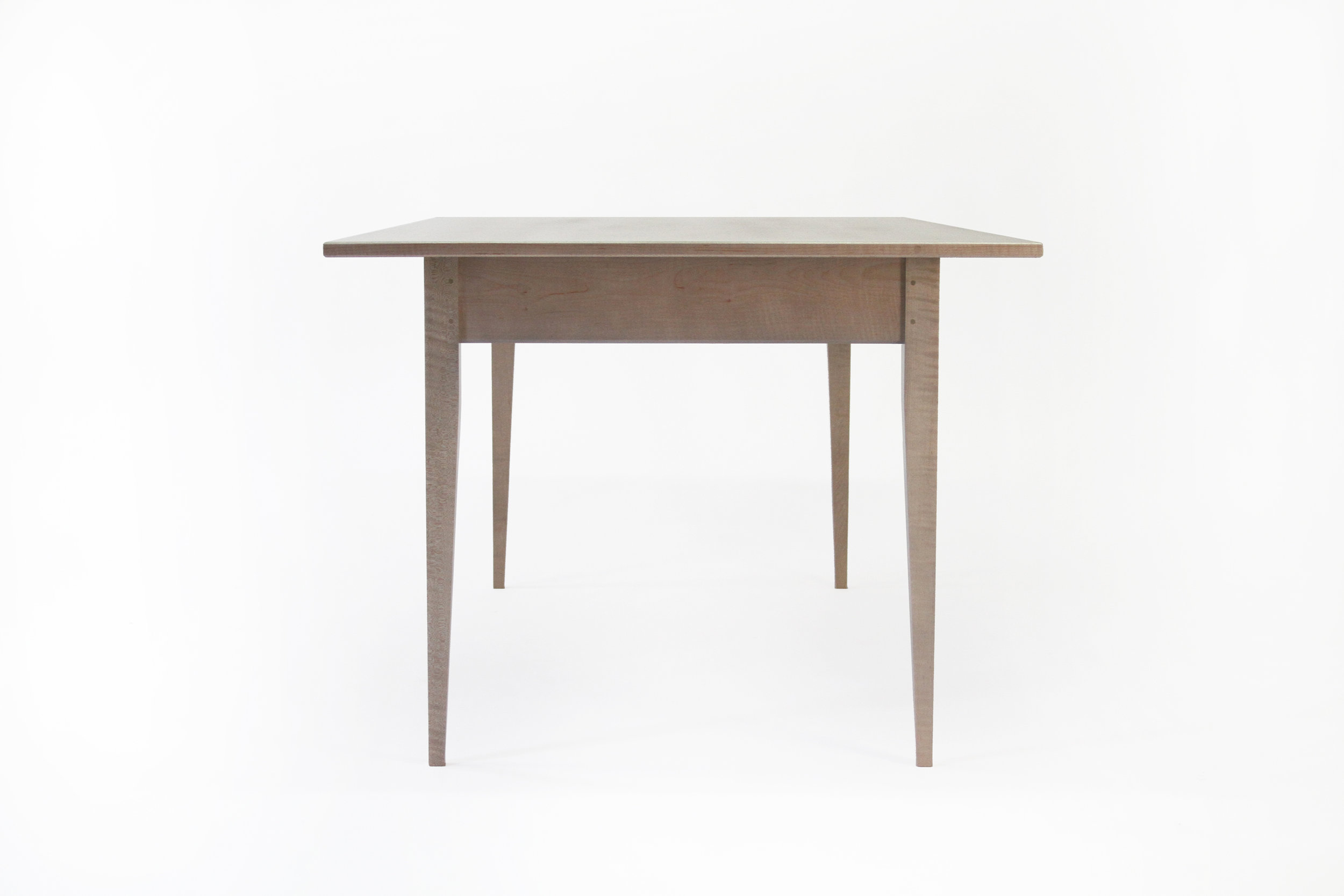 O&G Studio Buck Bench X Base Coffee Table Dining 48 Windsor Contemporary Side Americana Seating Modern Designed Design Interior Seating Azimuth Navy Blue Bronze Wedge Detail Pin Peg Stained