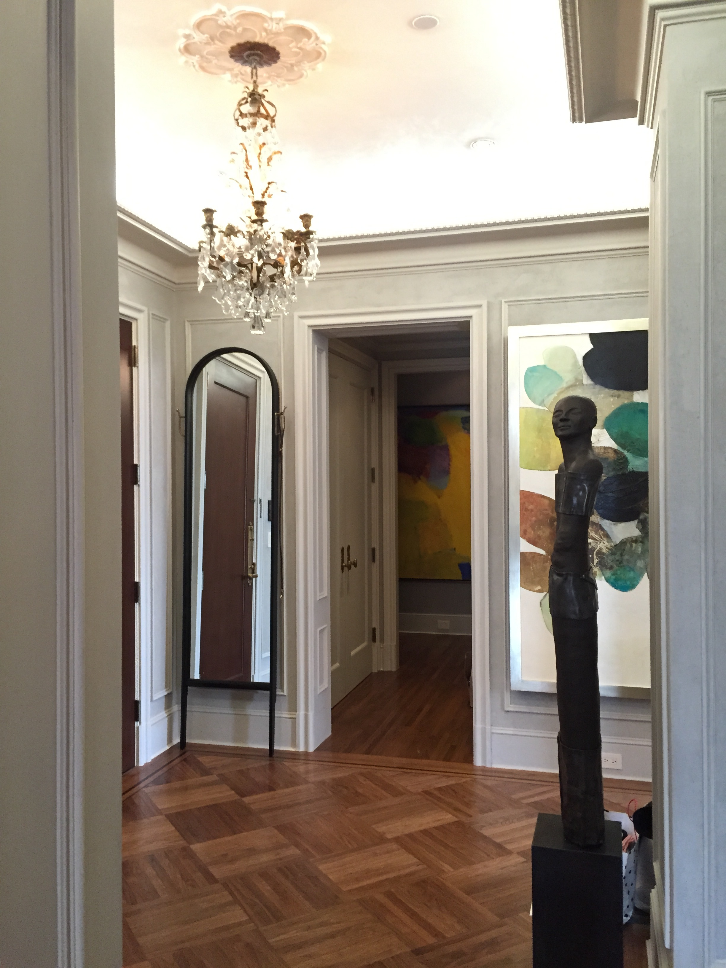 Double Hook Paniolo - 23 x 92 (Private Residence, NYC)
