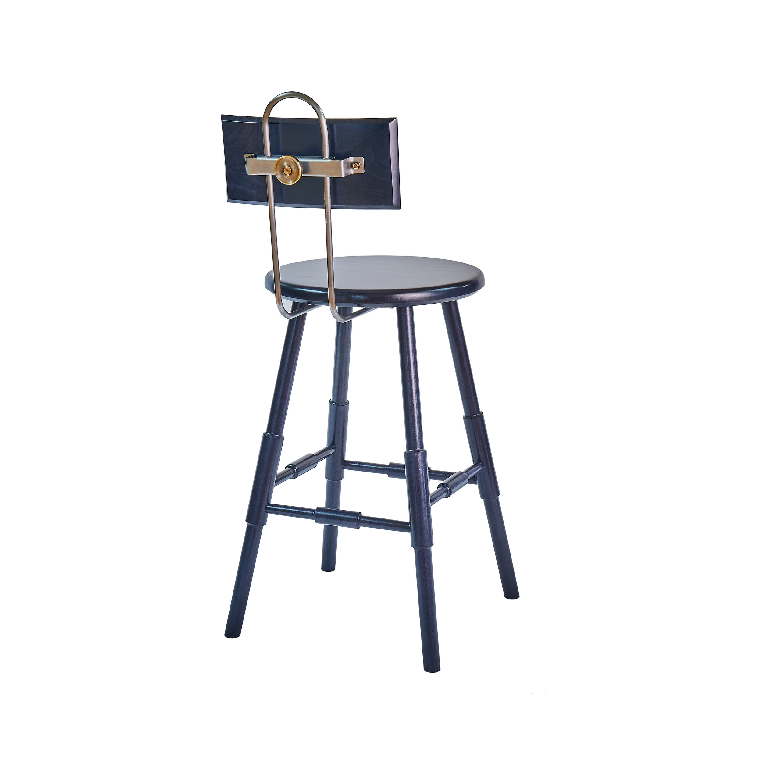 Atlantic Counter Stool With Back 24 O G Studio