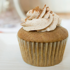 Snickerdoodle Cupcakes