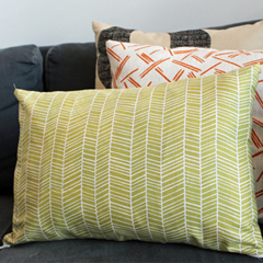 Pillow Cover with Zipper