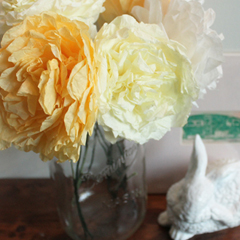 Dying Coffee Filter Flowers