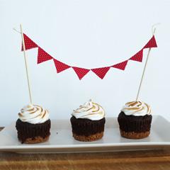 Fabric Cake Topper