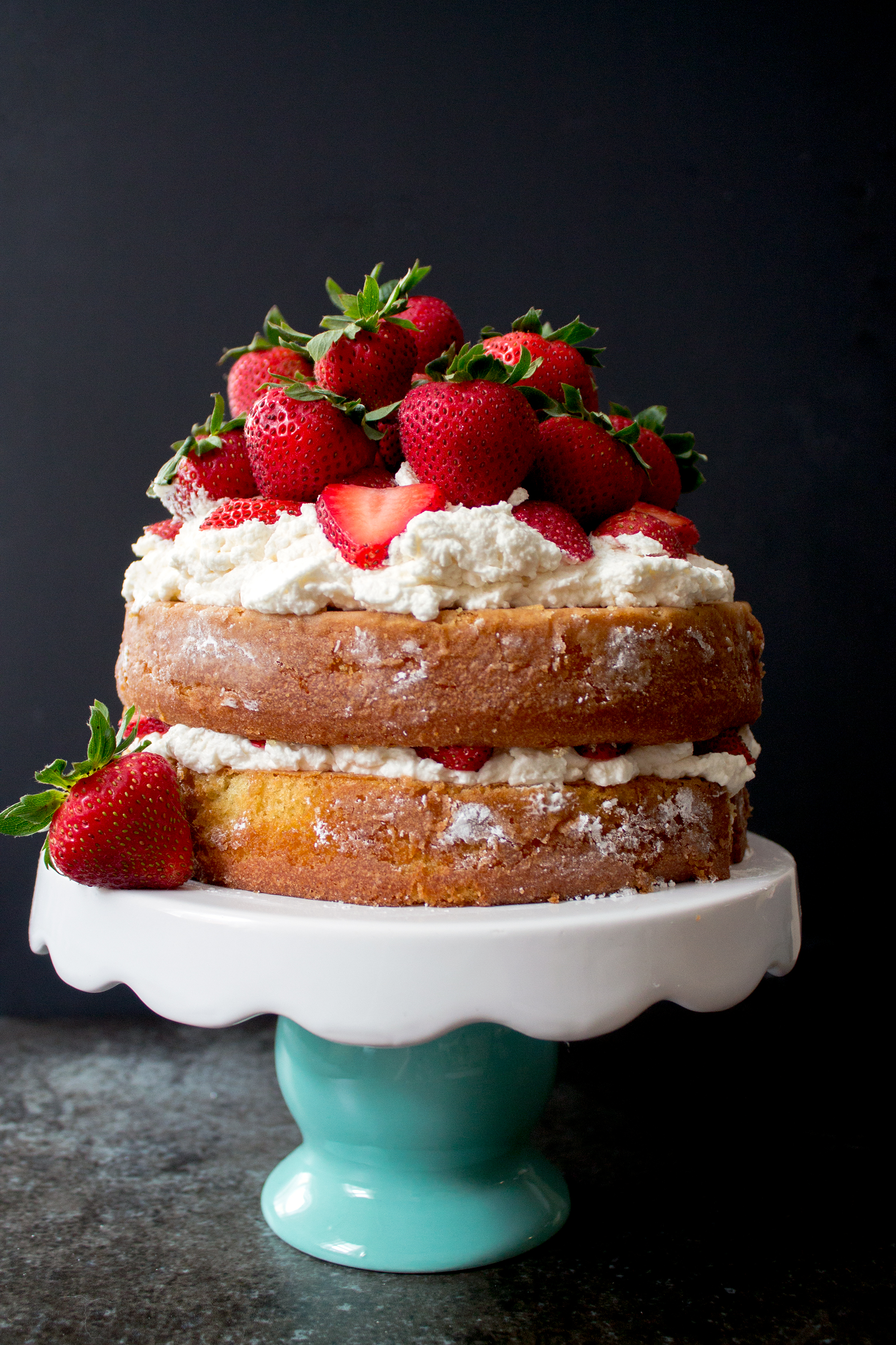 Perfect Summer Strawberry Shortcake via Unusually Lovely