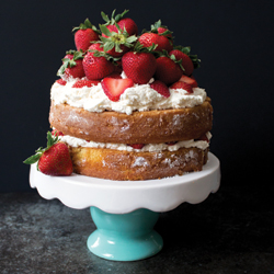 perfect summer strawberry shortcake