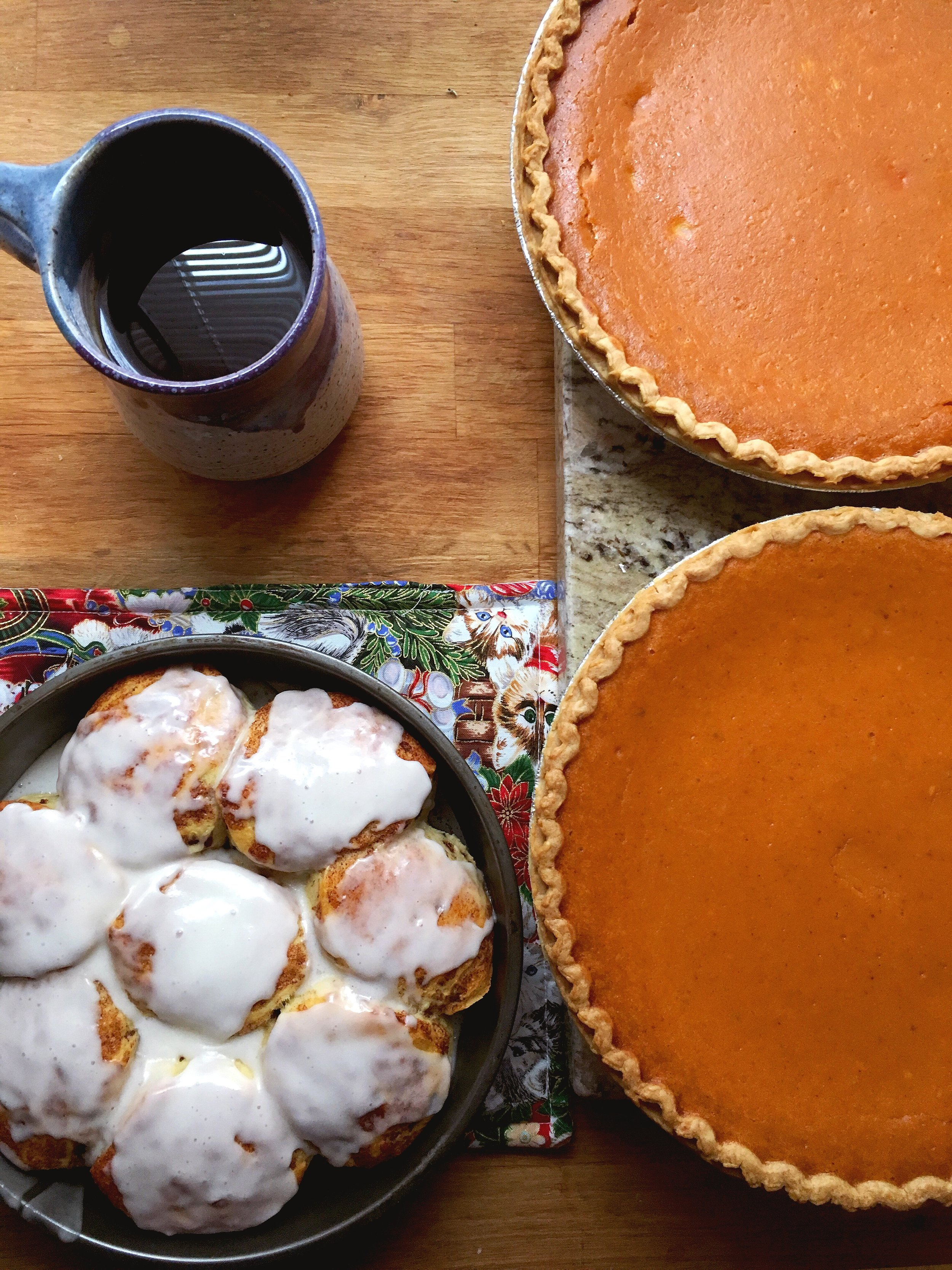 Pumpkin Pies via Unusually Lovely
