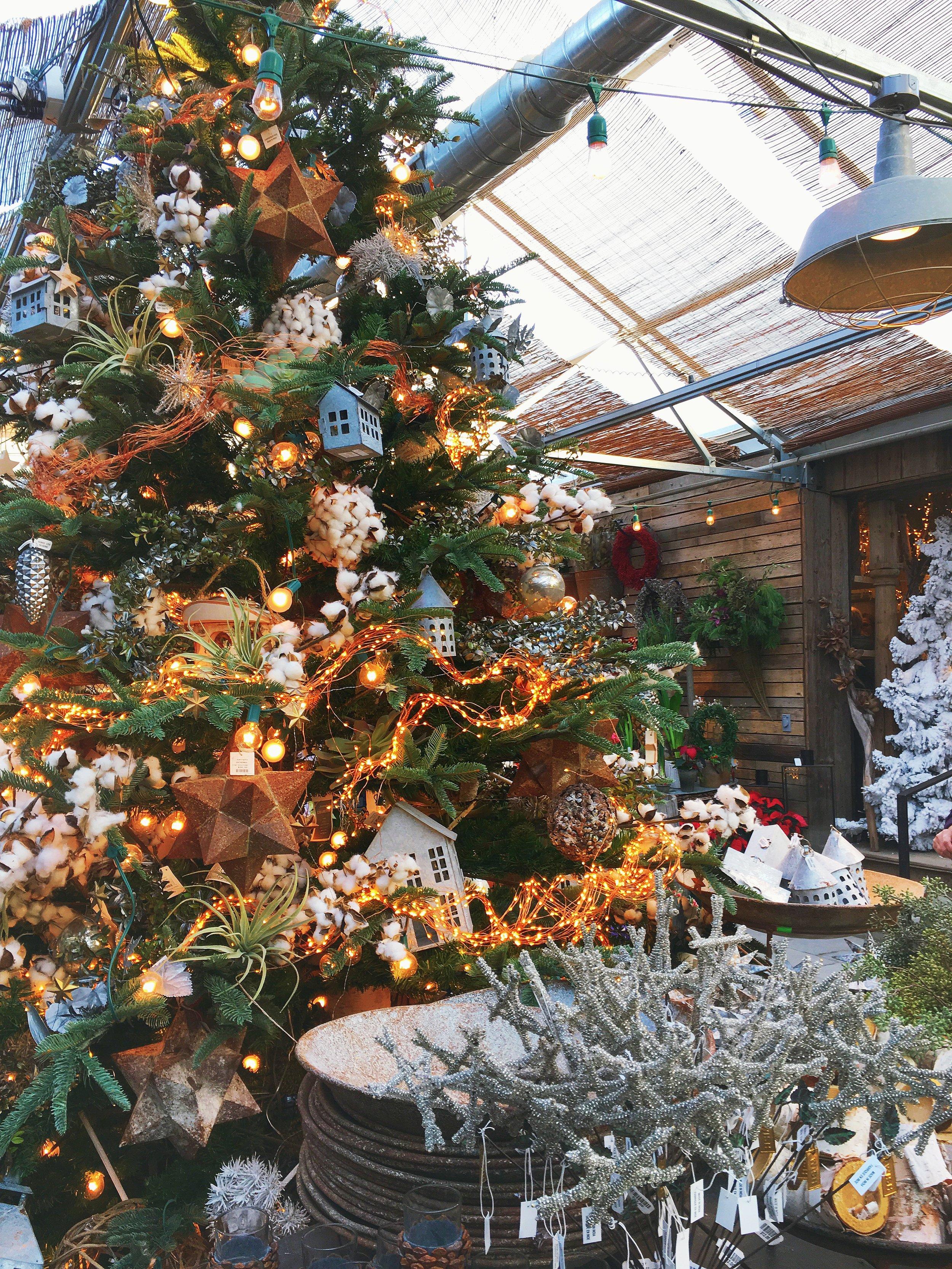 Terrain Christmas Tree via Unusually Lovely