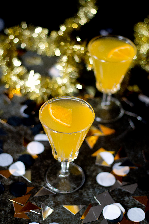 Tangerine St. Germain Spritz via Unusually Lovely