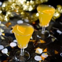 tangerine Elderflower spritz