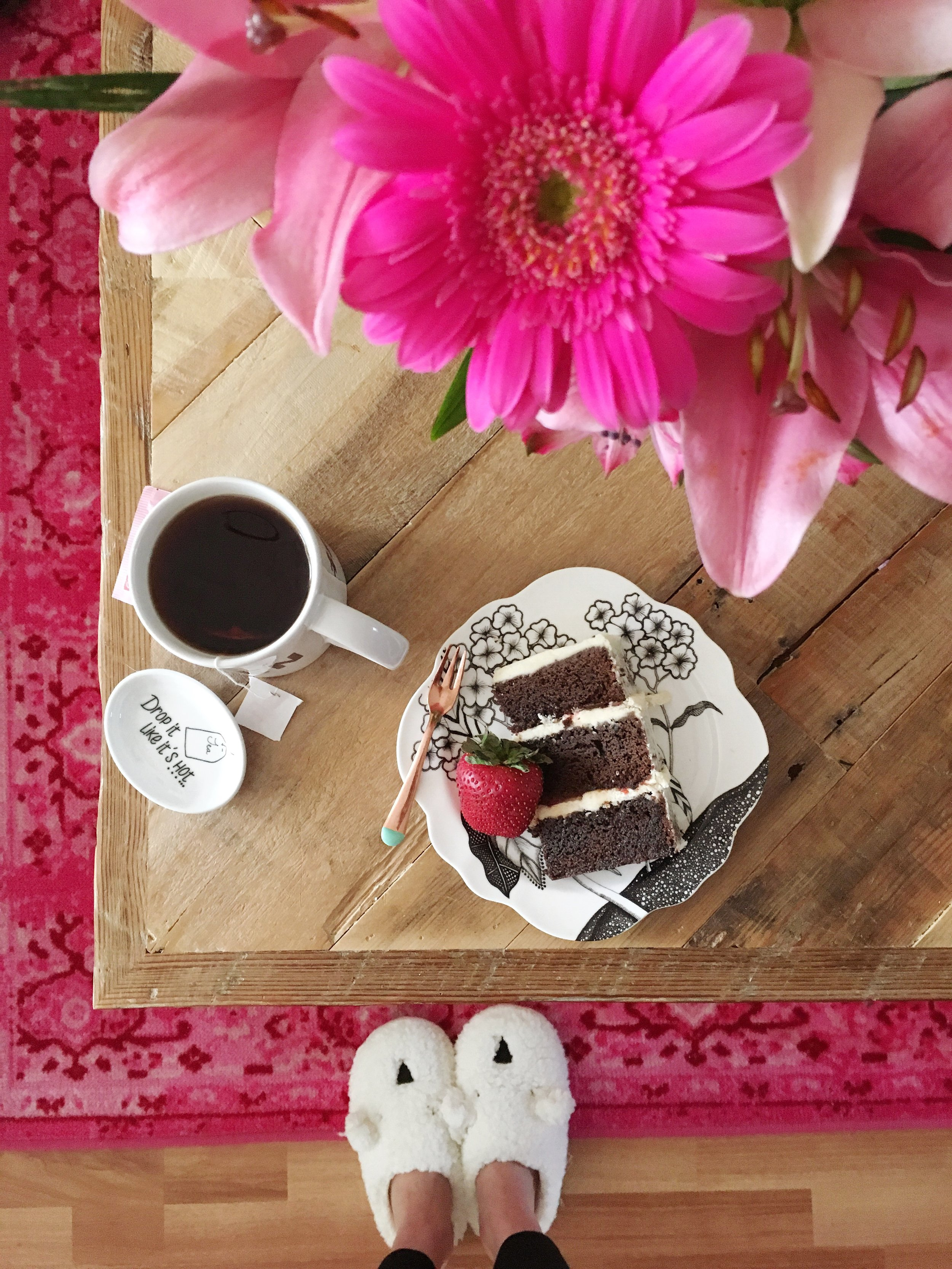 Cake For Breakfast from the Unusually Lovely Blog