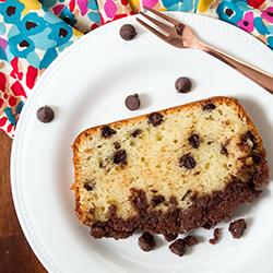 Double chocolate crumb sour cream cake