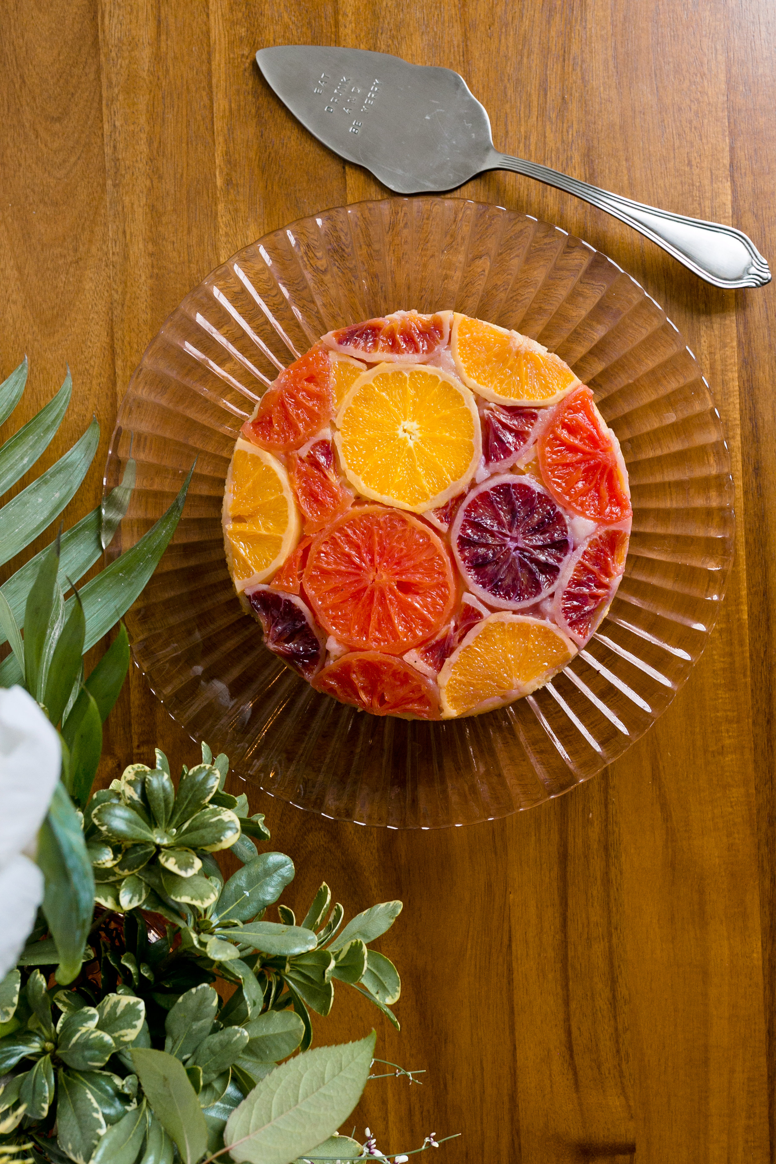 Recipe for Citrus Upside Down Cake from UnusuallyLovely.com