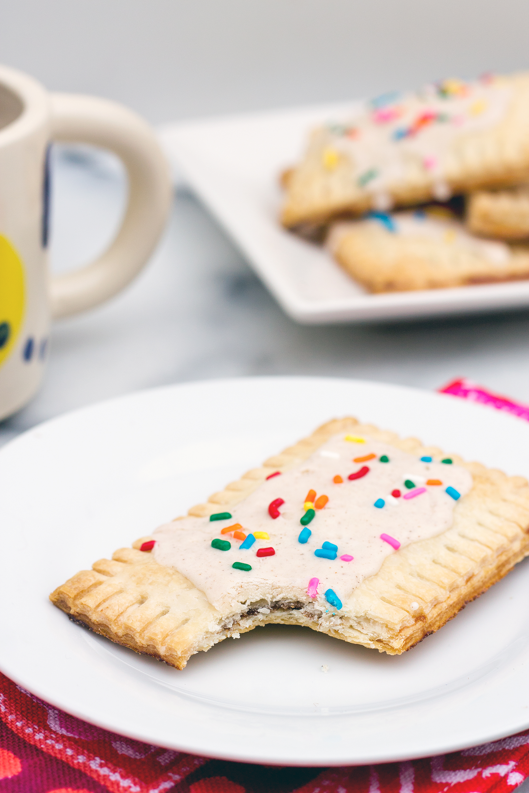 Recipe for Brown Sugar Cinnamon Poptarts from Unusually Lovely.