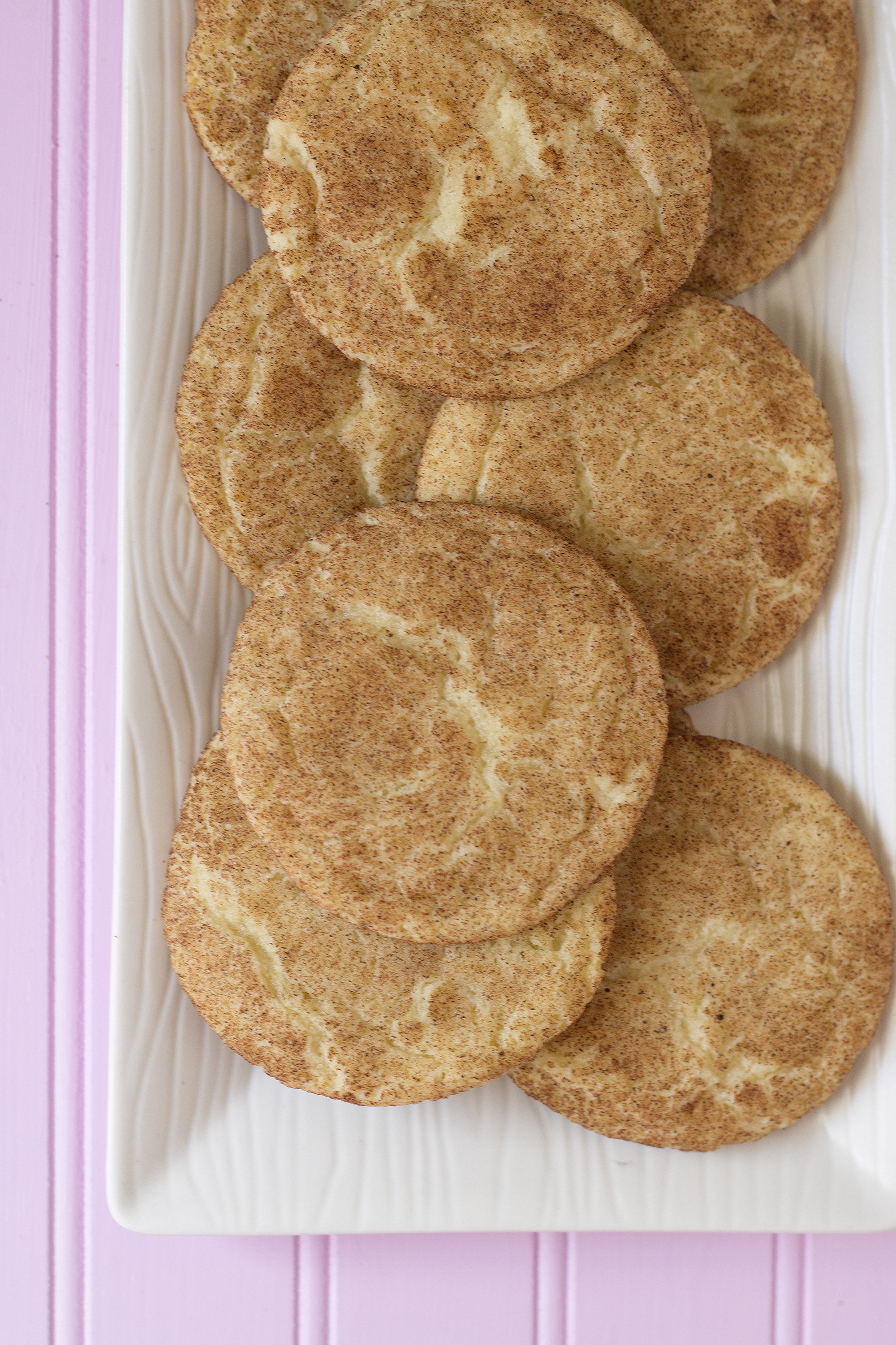 Chai Snickerdoodles! Get the recipe from the Unusually Lovely Blog
