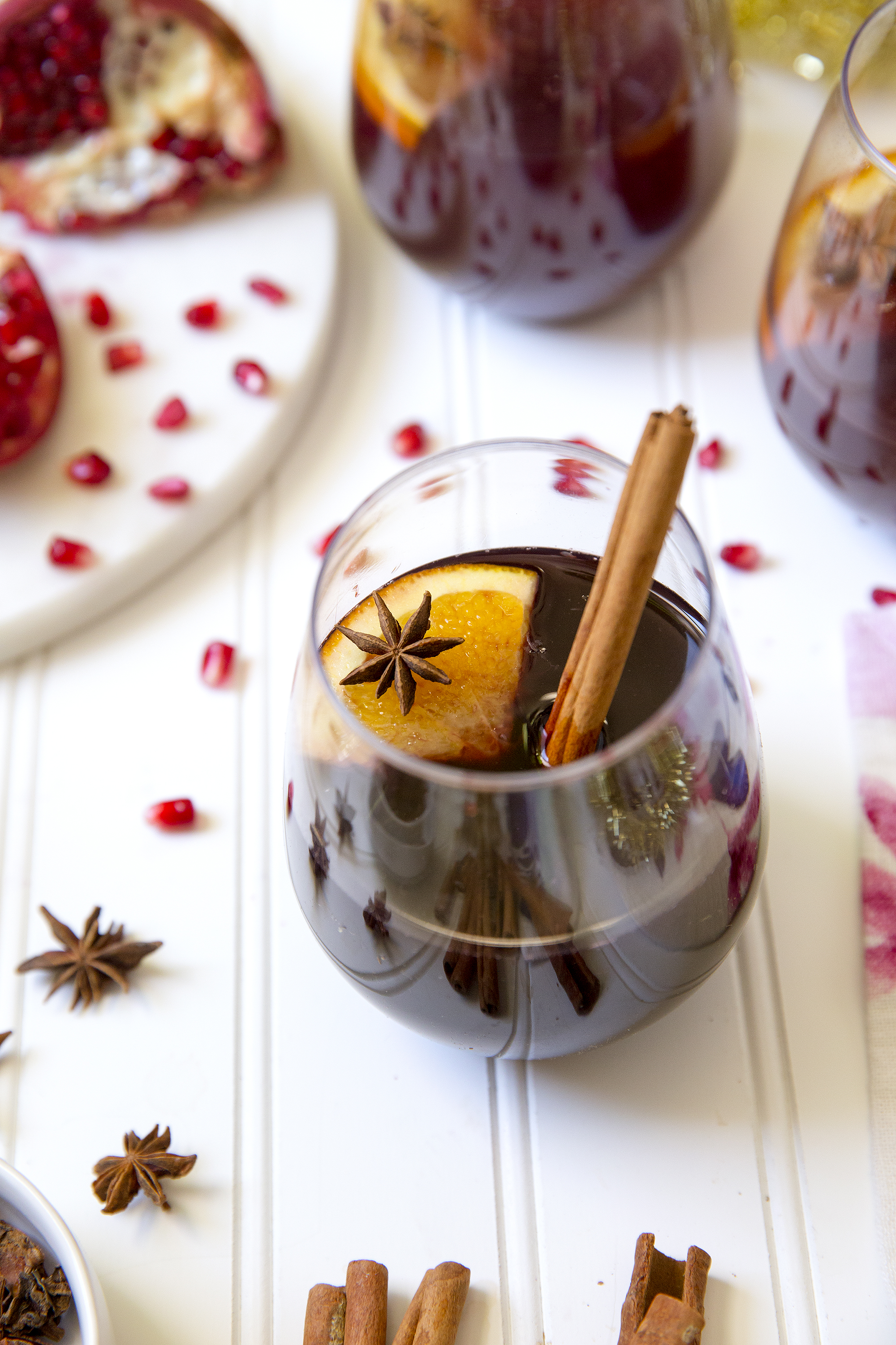 Mulled Wine via UnusuallyLovely.com