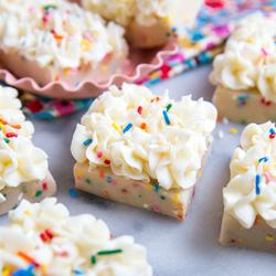 birthday cake bars