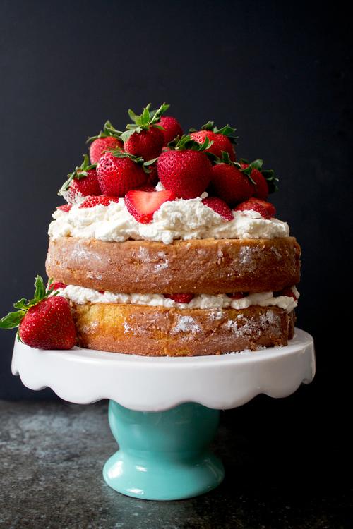Perfect Summer Strawberry Shortcake via UnusuallyLovely.com