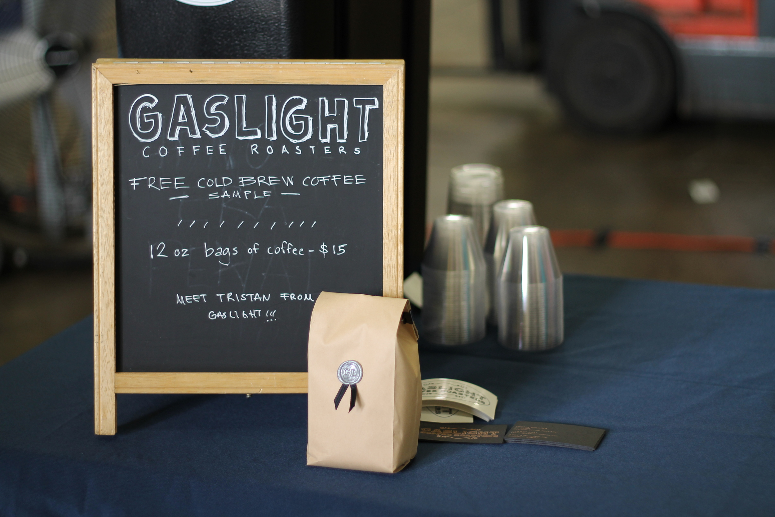 Cold brew samples courtesy Gaslight Coffee Roasters, who also custom roasted the coffee used in Yodo.