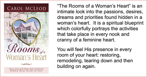The Rooms of a Woman's Heart  Teaching CD Series - $5   The Rooms of a Woman's Heart  Teaching Download - $10