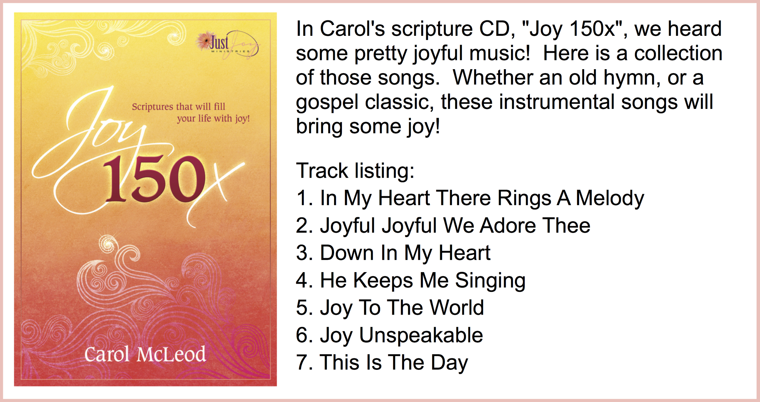 Music from Joy 150x Download - $5