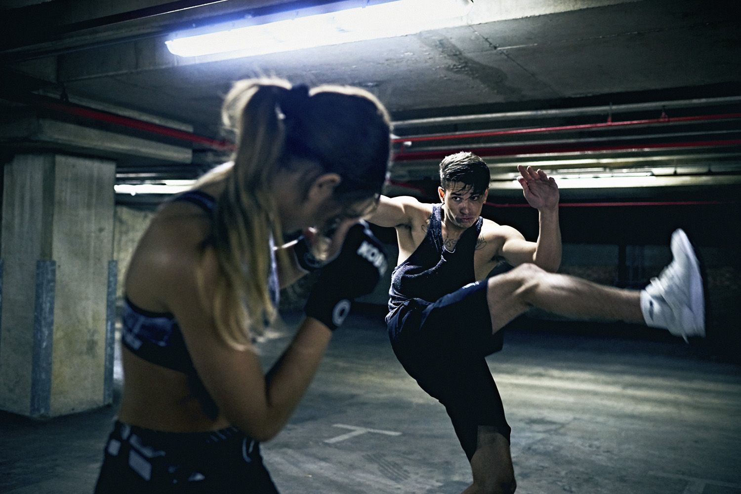 kickboxing photography