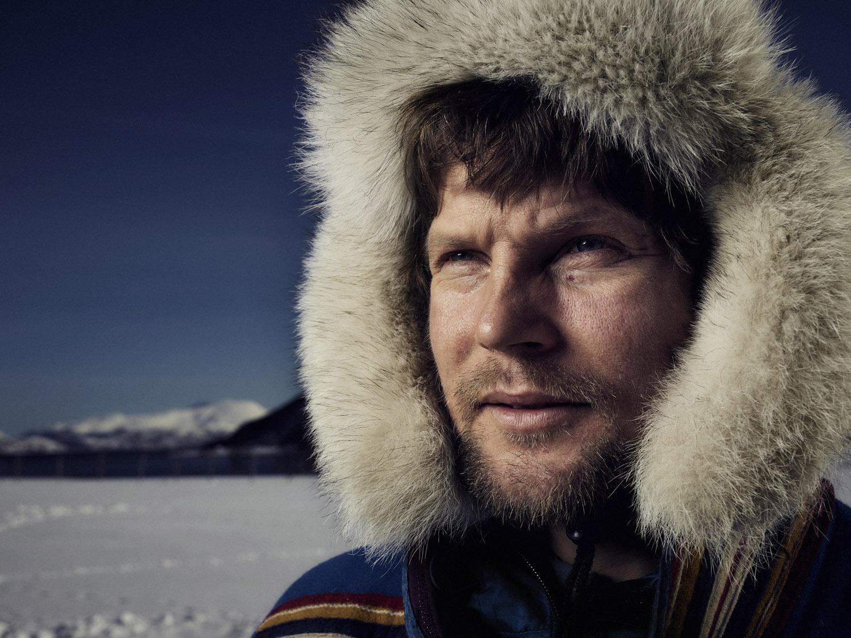 Sami people norway portrait