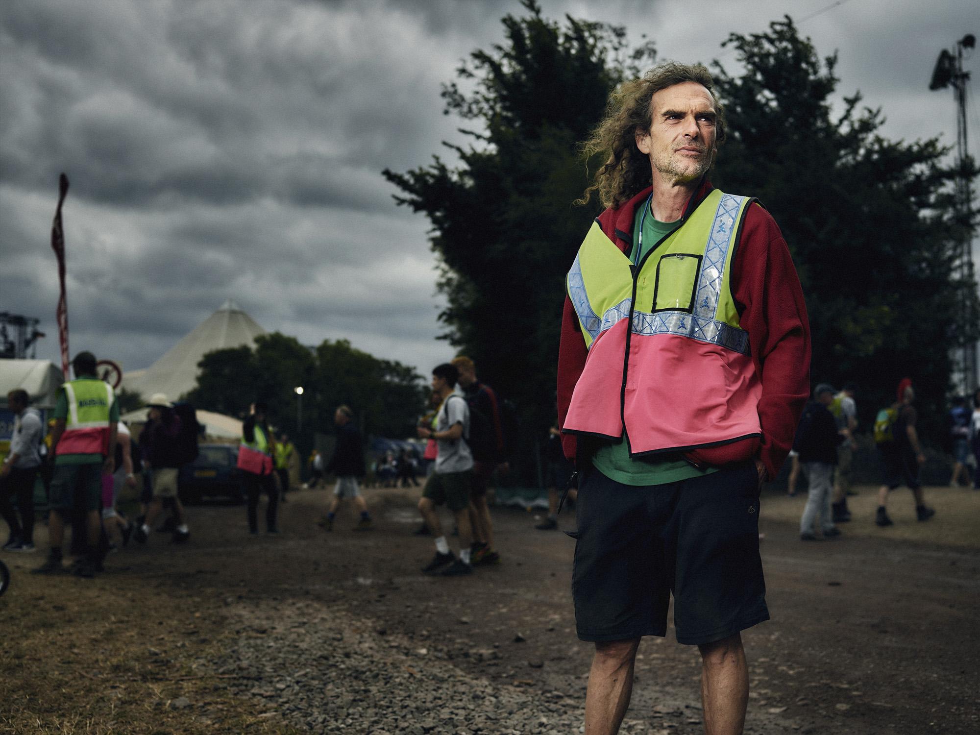 Scott - traffic steward, nomad and festival veteran