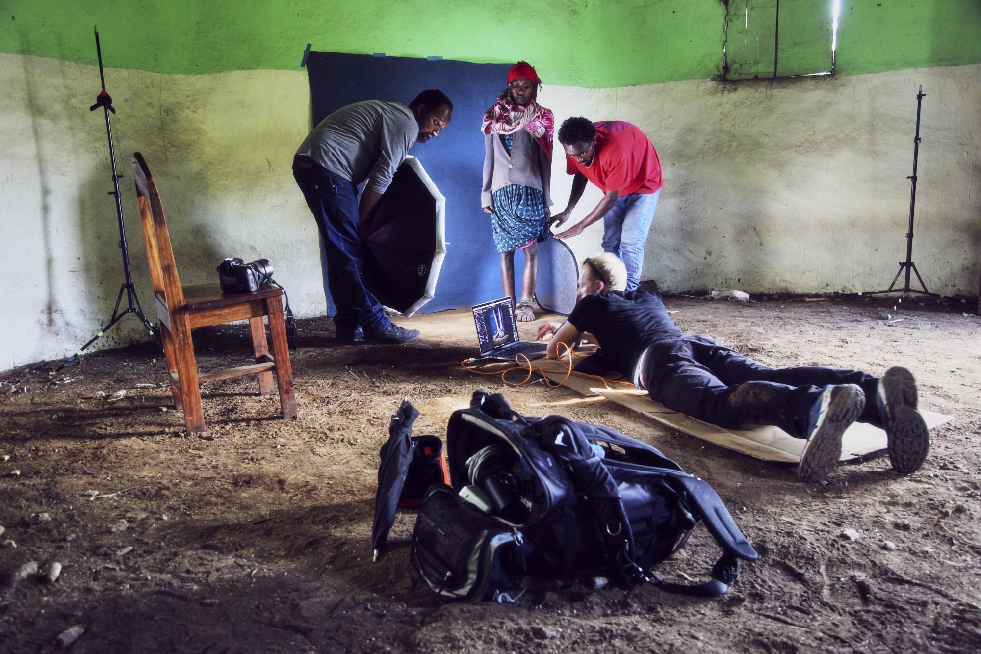 PODO by Matthew Joseph behind the scenes Ethiopia
