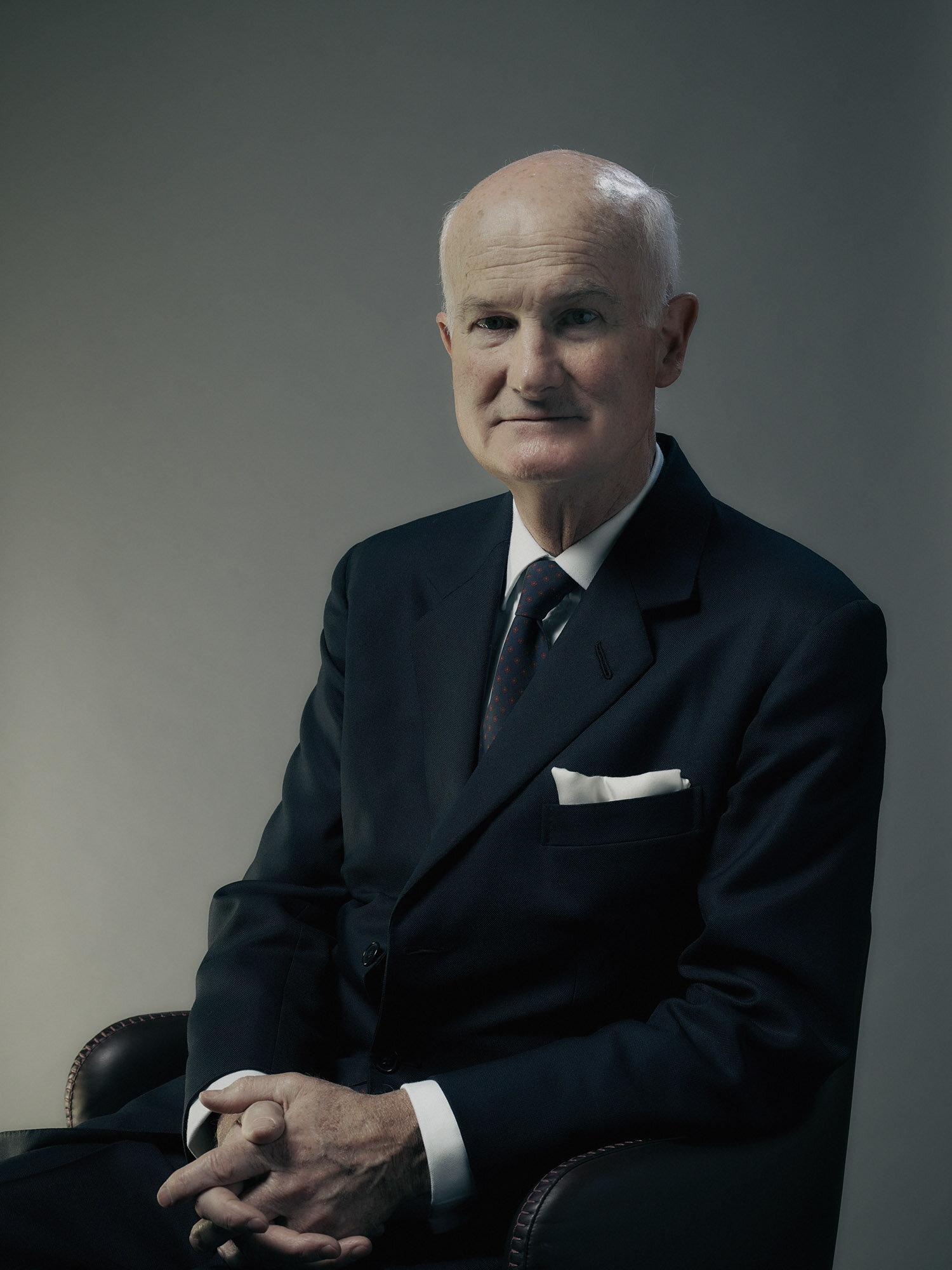 Sir Michael Peat portrait