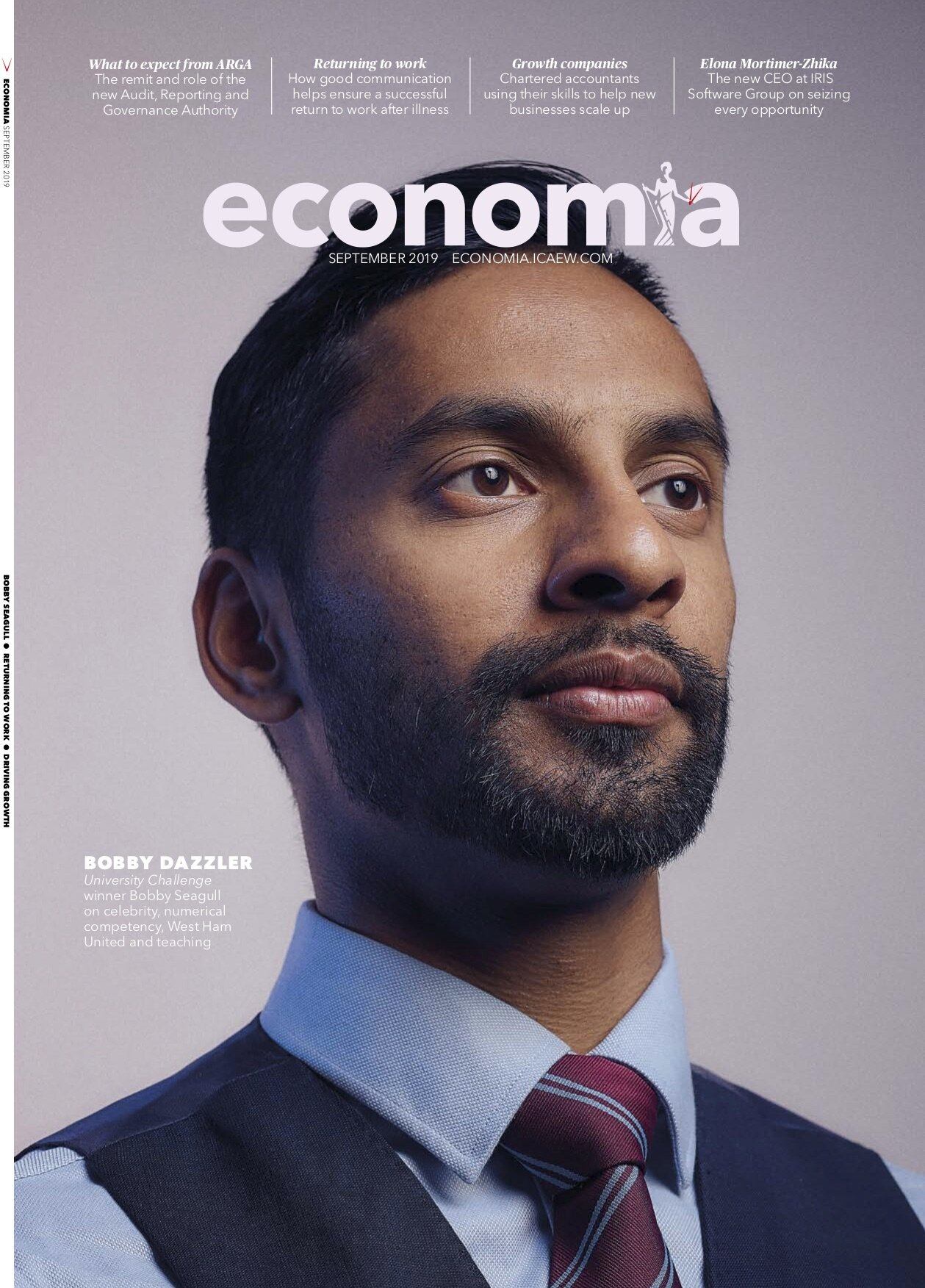 bobby seagull portrait economia magazine