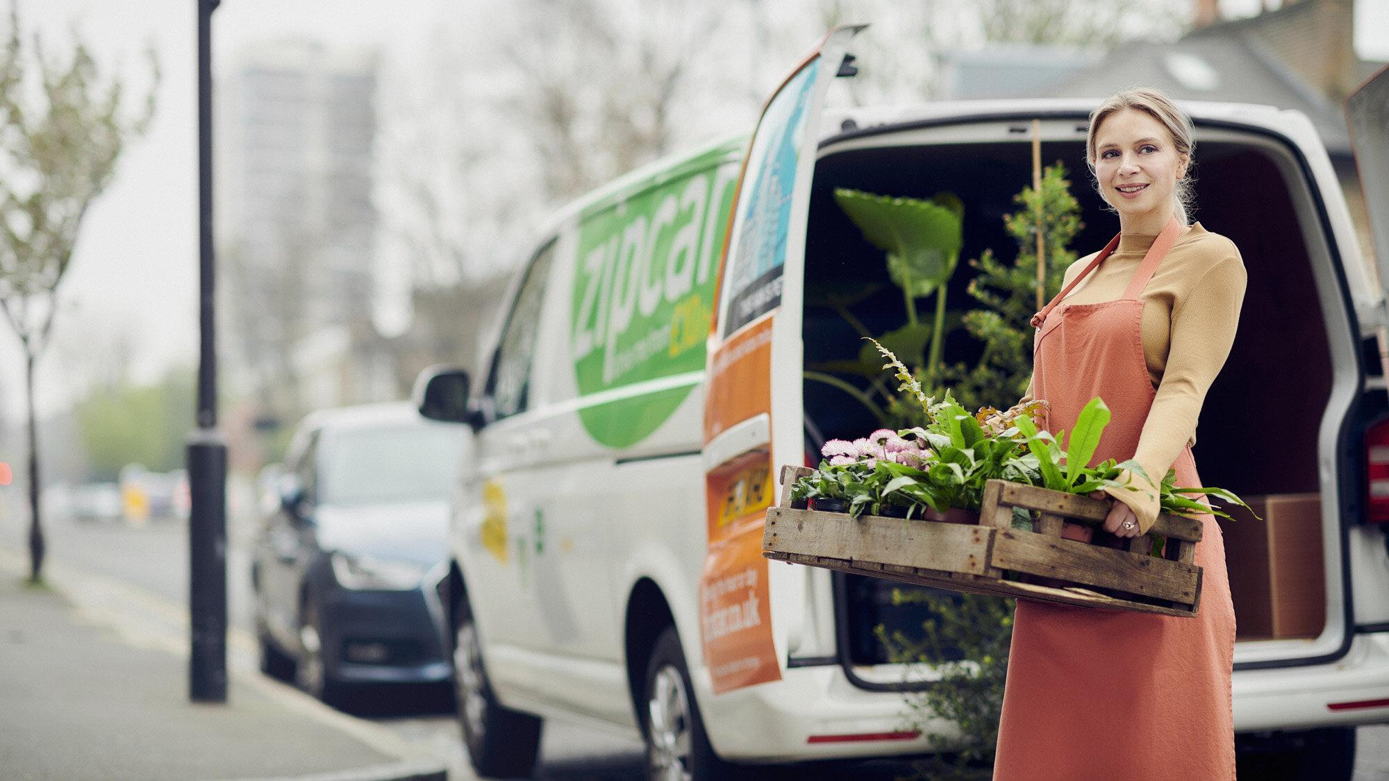 zipcar flower delivery flowergirl